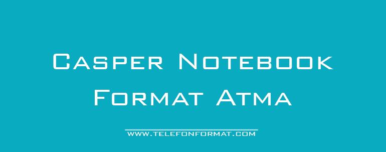 Casper Notebook Format Atma