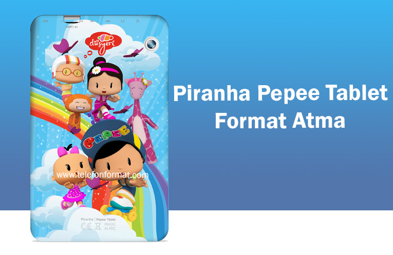 Piranha Pepee Tablet