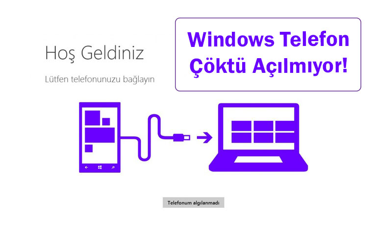 Windows Telefon Çöktü