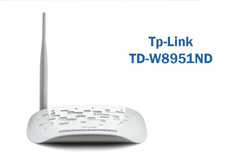 TP LINK TD W8951ND