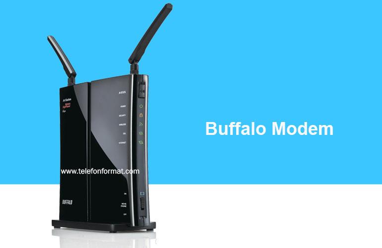 Buffalo modem
