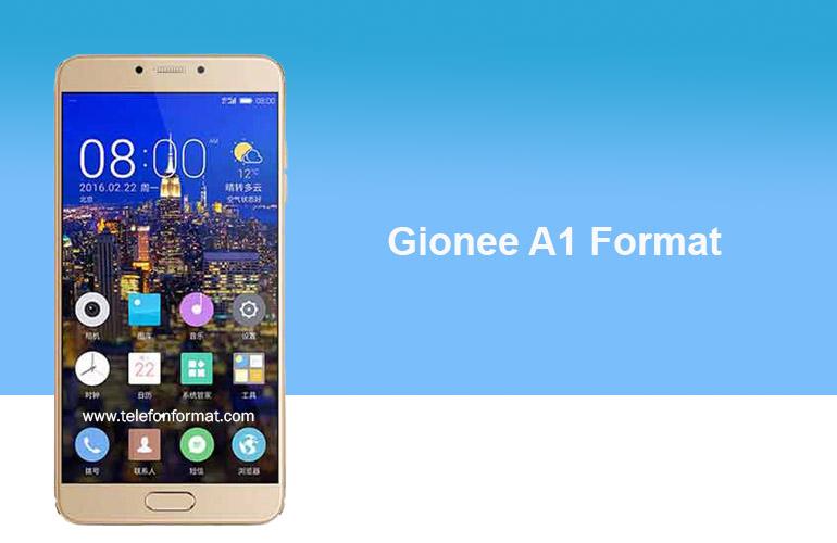 Gionee A1 Format Hard Reset | TelefonFormat com