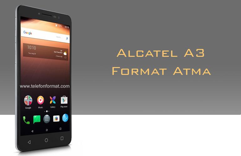 Alcatel A3 Format