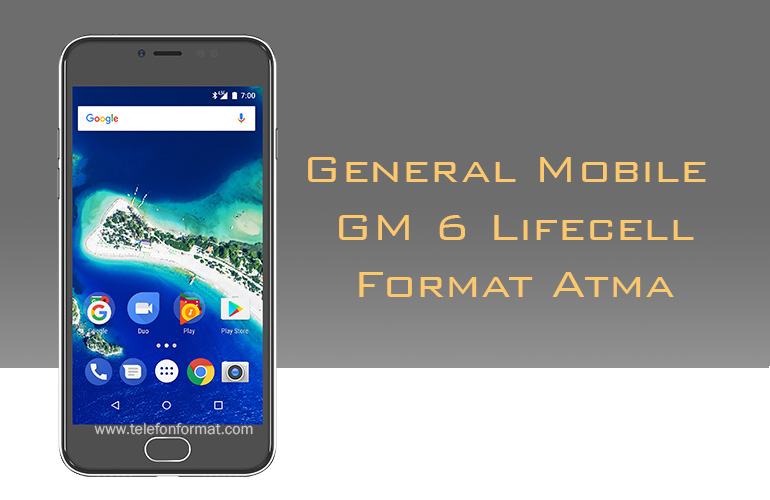 General Mobile GM 6 Lifecell