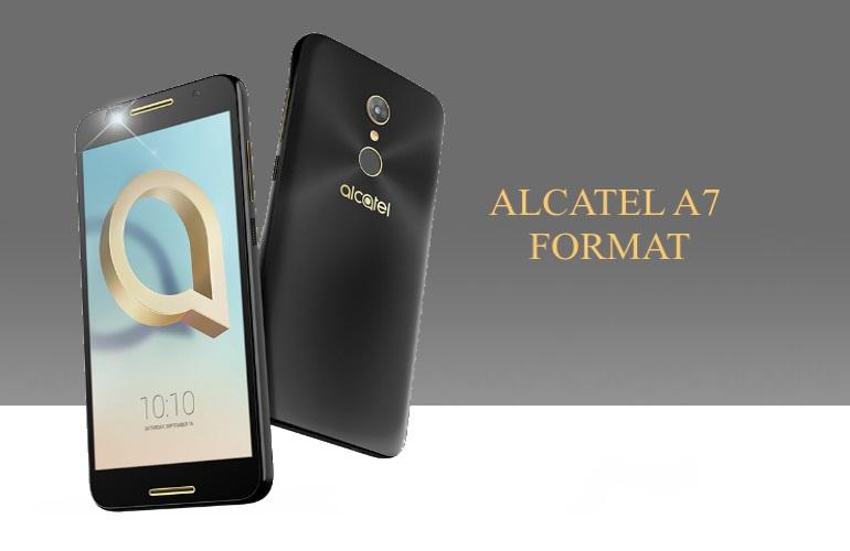 Alcatel A7 Format