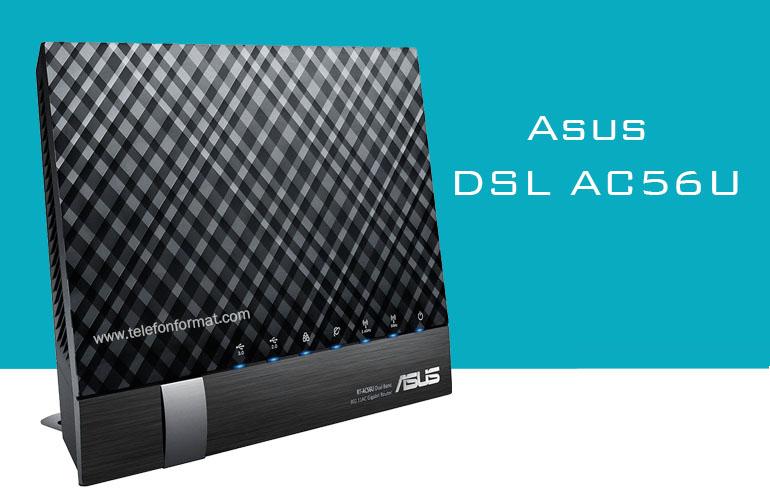 Asus DSL AC56U Şifre Kablosuz Kurulum