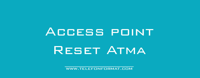 Access point resetleme