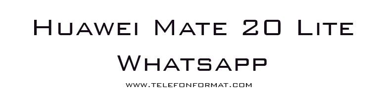 Huawei Mate 20 Lite Whatsapp Bildirim Sorunu